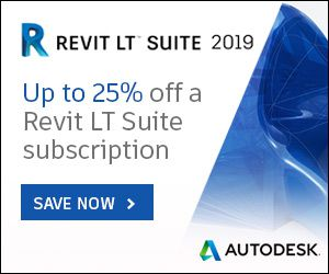 Revit LT Suite 2019 - Flash Promo - 25% reducere