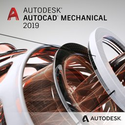 autocad mechanical 2019 badge 256ppx